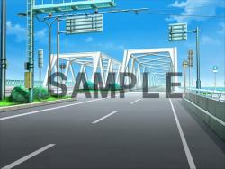 CG background material - layer non-integrated: Bridge 02